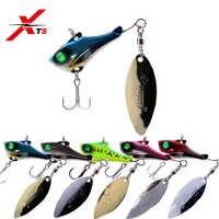 XTS de señuelo de pesca 7g 14g 21g 28g Wobblers Artificial de Metal duro señuelo se hunde Swimbait 5 colores cebo de pesca Jigging Spoon KJS007