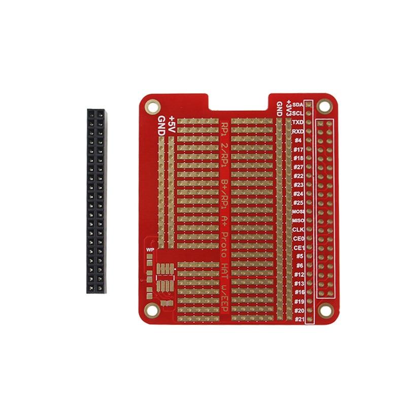 DIY Prototype HAT Shield Extension Board GPIO Board With Screws For Raspberry Pi 3/2 Model B+ Plus