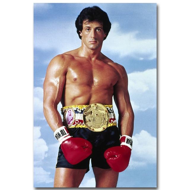 Inspirational Quotes Motivation: NICOLESHENTING Rocky Balboa Boxing Art Silk Poster Print
