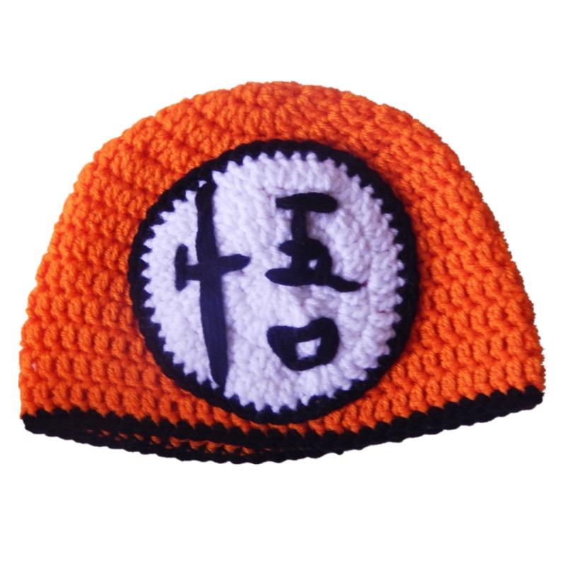 Novetly Character Hathandmade Knit Crochet Baby Boy Girl Orange