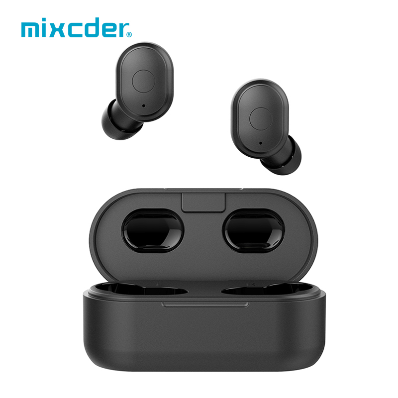 Mixcder <font><b>T1</b></font> <font><b>TWS</b></font> Wireless Bluetooth Earphone V5.0 True Wireless Headphones Handsfree Earbuds Sports Headset with Dual Microphone image