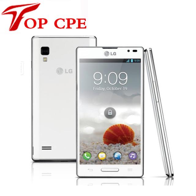Lg optimus l9 p760 abierto original del teléfono móvil de doble núcleo android 1 ghz cpu 5mp un año freeship garantía reformado