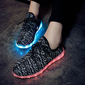 Lovers Sport Running Shoes LED Outdoor Breathable Comfortable Luminous Shoes Lightweight Athletic Sneaker For Men and Women