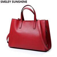 Luxury Female Genuine Cow Leather Top Handle Bags Design Women Handbag Crossbody Shoulder Bag Ladies Designer