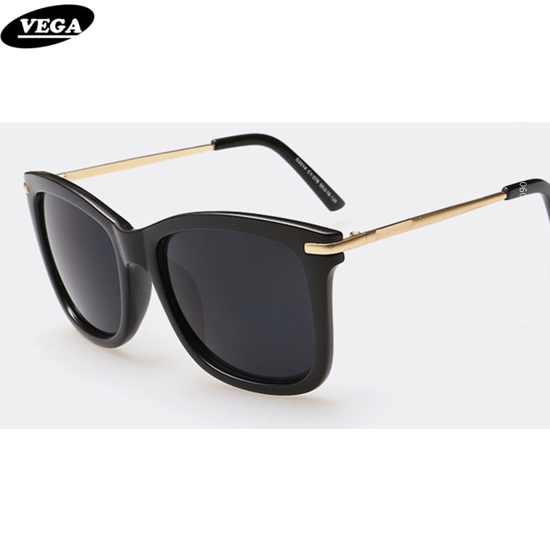 VEGA Dernières Vintage lunettes de Soleil Femmes Dames Carrés Lunettes De Soleil Femelle Rétro Lunettes UV 400 Gradient Lentilles 014