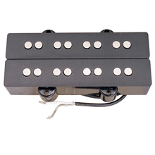 все цены на 4 String Black Bass Guitar Pickup Humbucker Double Coil for Electric Bass Accessories онлайн
