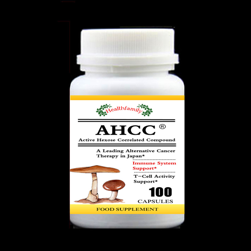 100pcs/bottle Active Hexose Correlated Compound (AHCC),Basidiomycetes,Immune Support,Free shipping 1000mg 100 pcs fish oil bottle for health capsules omega 3 dha epa with free shipping