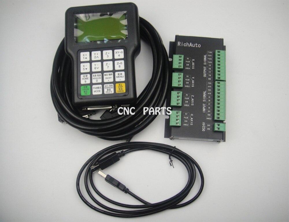 3 axes motion DSP cnc controller RICHAUTO brand A11