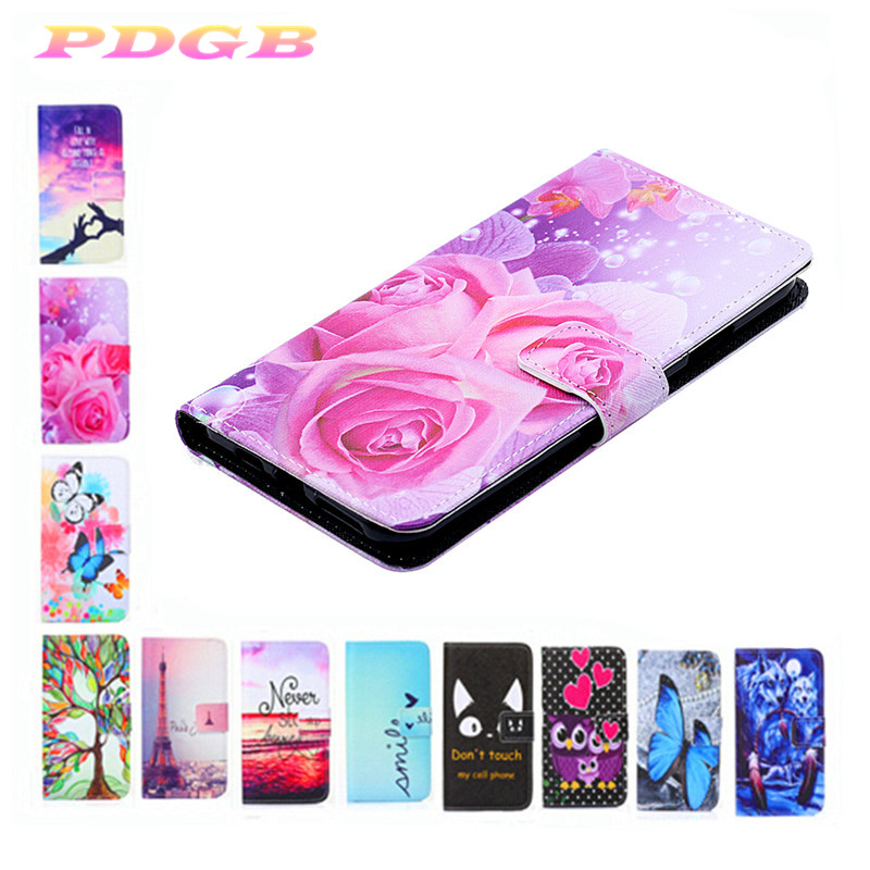 Phone Cases Cover For Cubot P20 Power X18 Plus X19 PU Leather Case for Cubot Note Plus H3 J3 Pro R11 X19 art paint(China)