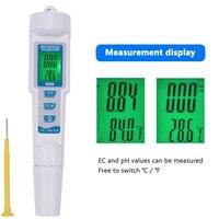Multifunction Temperature Water Quality Conductivity PH EC Tool Measurement PH Meter Pen Tester 3 In 1 983