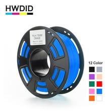 HWDID 3D Printer Filament PLA 1KG 1.75mm material Plastic Rubber Consumables Material for 3d Pen Printer for 3D pen handles