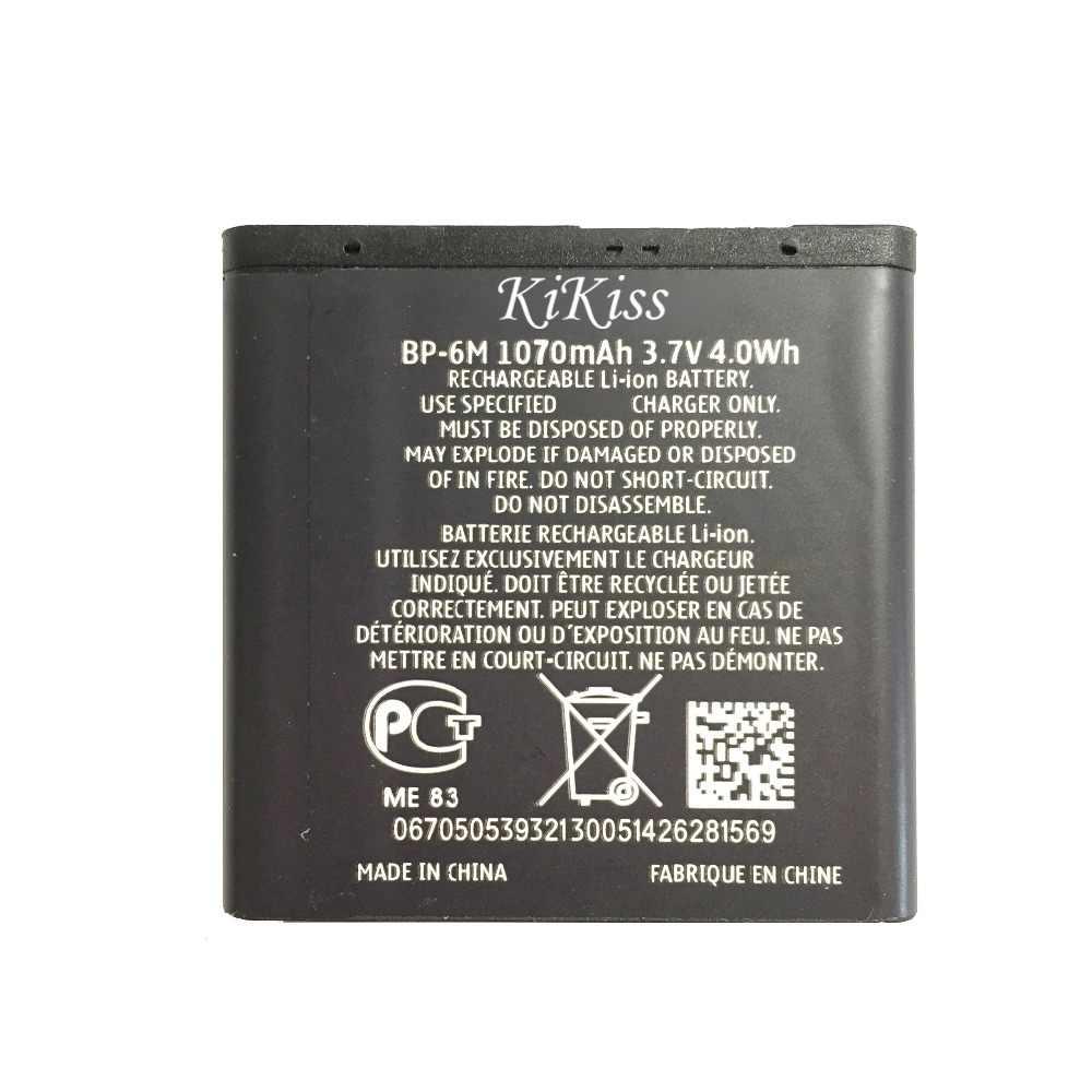 Класс литий-полимерный Батарея BP-6M 1100mAh Для NOKIA N93 N73 9300 6233 6280 6282 3250 6151 6234 6288 9300i N77 6151 62