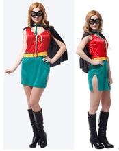 Halloween Superman Clothes Adult Female Robin Superman Ball Performing Superman Clothes Children's Day superman reborn