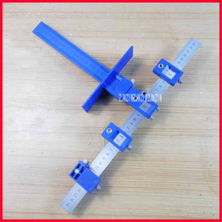 New Kitchen Cabinet Handle Punch Locator Furniture Multi-function Woodworking Puncher Adjustment Auxiliary Installation Tool 5mm