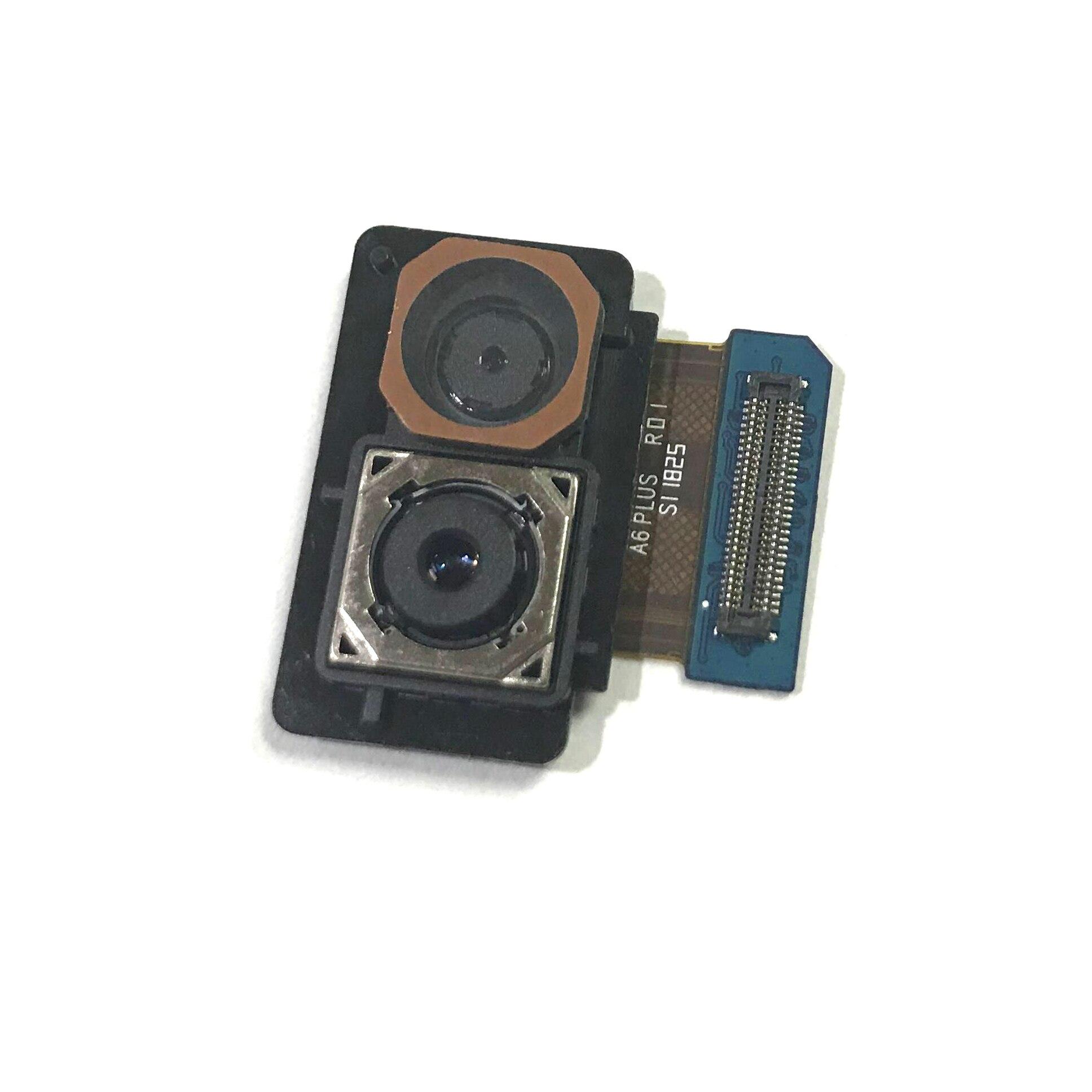 1pcs New Original Rear Back Camera For Samsung Galaxy A6+ Plus 2018 A605 A605F