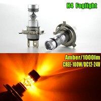 2pcs Car LED Light 75W H4 Canbus Led C Ree Chip Bulbs 12V 24V Auto Lamps