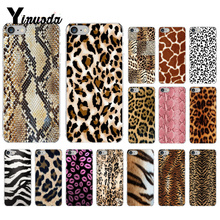Yinuoda Snake skinFashion Tiger Leopard Print Panther Colorful Cute Phone Case for iPhone 8 7 6 6S Plus X XS MAX 5 5S SE XR 10