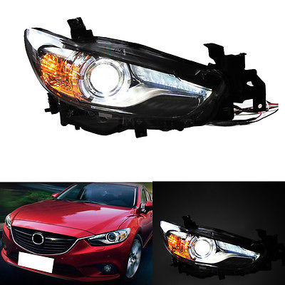 Xenon Headlight For Mazda 6 2014-17/Atenza 2013-16 With LED DRL And Glass Lens