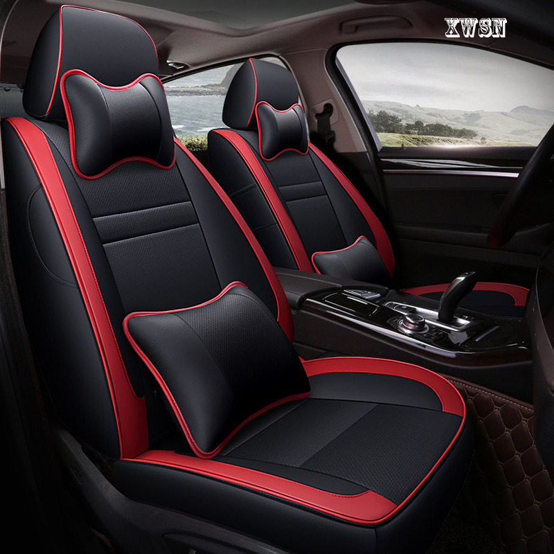 custom car seat covers for mitsubishi carisma pajero 4 outlander xl lancer asx car accessories covers for vehicle seat
