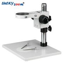 Повезло Зум Бренда! супер Большой Микроскоп Настольная Подставка с Фокусировка Rack ST2 + A1 ОСВОБОЖДАЮТ Перевозку Груза