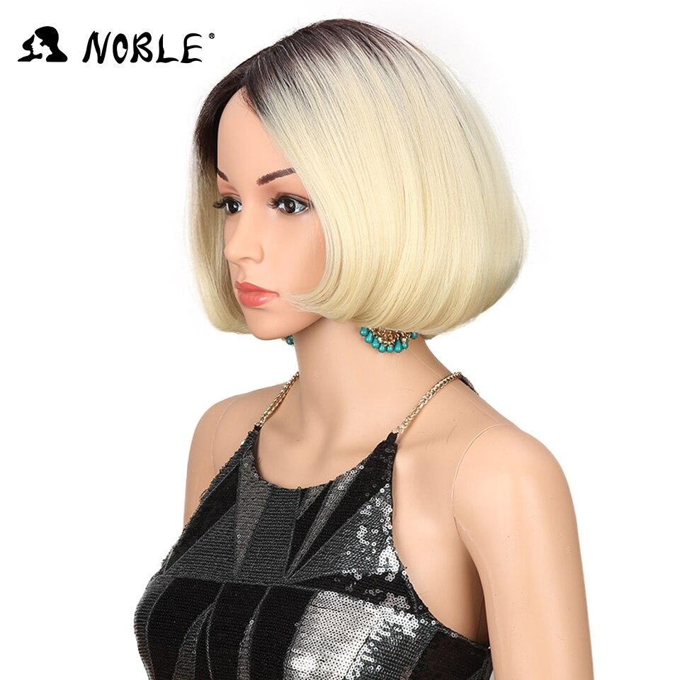 Noble Hair Cosplay Paryk Styled 10 Inch Short Bob Paryk För Kvinnor - Syntetiskt hår - Foto 2