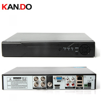 HD 1080P 4CH Video In AHD DVR 4 CH Audio AHD H 1080P CCTV DVR For