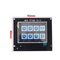MKS GEN V1.4+MKS TFT32/TFT28 Touchscreen 3D Printer DIY Starter Kit with Cable Compatible Ramps1.4 IJS998