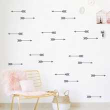 Cartoon Arrow Wall Stickers Vinyl Wall Decals, Removable Child Room Decoration Art Modern Wall Decors Free Shipping