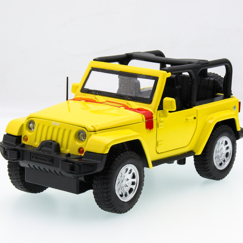 2017 Hot sell 1:32 SUV Jeep Diecast Alloy Metal Luxury Car Model Collection Model Pull Back Toys Car Gift For Boy