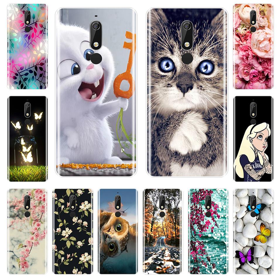 Fashion Printed Phone Case For <font><b>Nokia</b></font> 7.1 6.1 5.1 <font><b>3.1</b></font> 2.1 Case Soft Silicone For <font><b>Nokia</b></font> 7.1 6.1 5.1 <font><b>3.1</b></font> 2.1 Plus <font><b>Back</b></font> <font><b>Cover</b></font> image