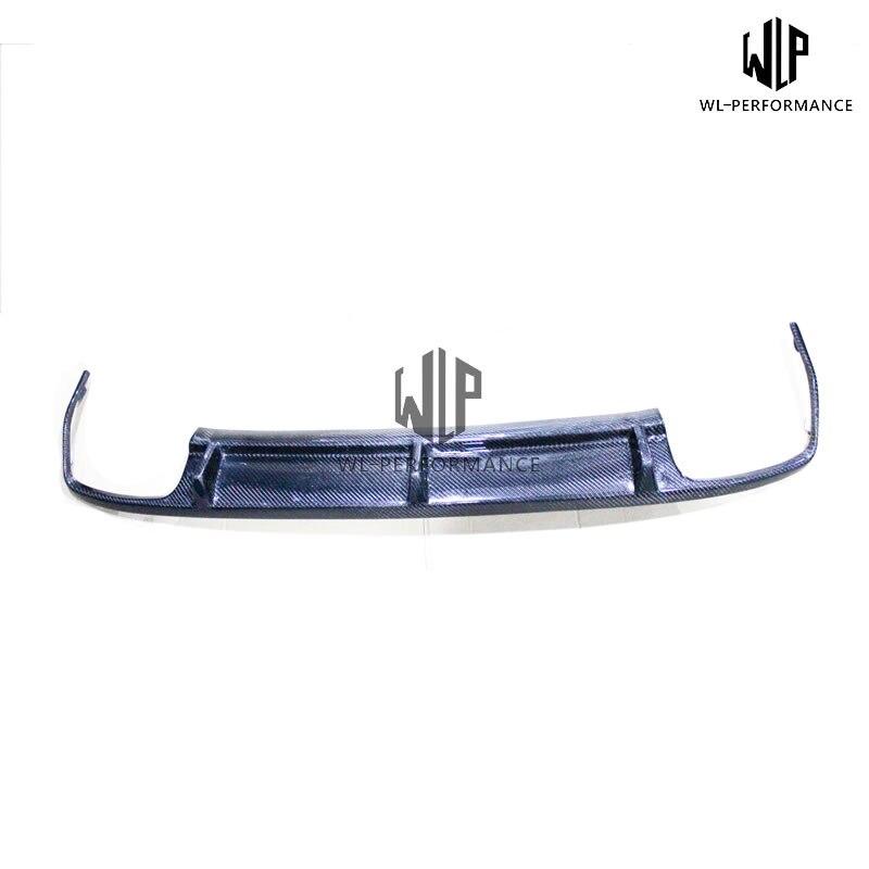W212 Carben Fiber Rear Lip Diffuser Car Styling For Mercedes-Benz E Class E63 Car Body Kit 2010-2013