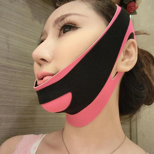 Delicate Face Lift Tool Facial Thin Slimming Bandage Skin Care tool Belt Shape And Lift Reduce Double Chin Face Slimming Band 2