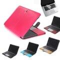 сумка для ноутбука 2 в 1 искусственная кожа флип чехол и клавиатура для Macbook Pro Retina 11 13 15 ноутбук сумка для Mac книги 11.6 13.3 15.4 дюймов
