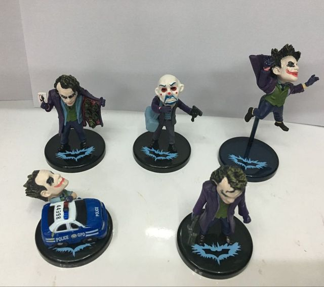 5x Joker Action Figures