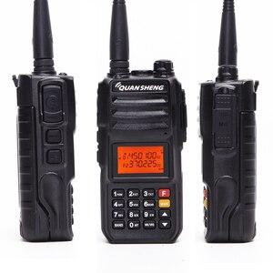Image 3 - Quansheng TG UV2 PLUS haute puissance 10W 5 bandes 136 174MHz/Police 350 390MH/400 470MHz 4000mAh 10KM longue portée 200CH talkie walkie