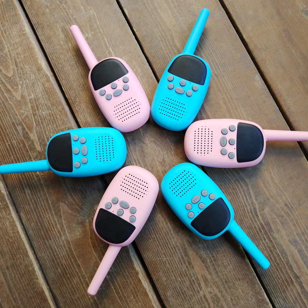 Free Shipping Newest Product Mini Toy Walkie Talkie Portable Wireless Communication Tools Security Products Walk Talk Free