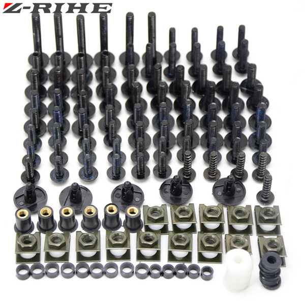 Universa motorcycle Fairing Bolts motorcycle accessories windscreen screws fit for BMW S1000RR HP4 DUCATI749 999 1098 1099