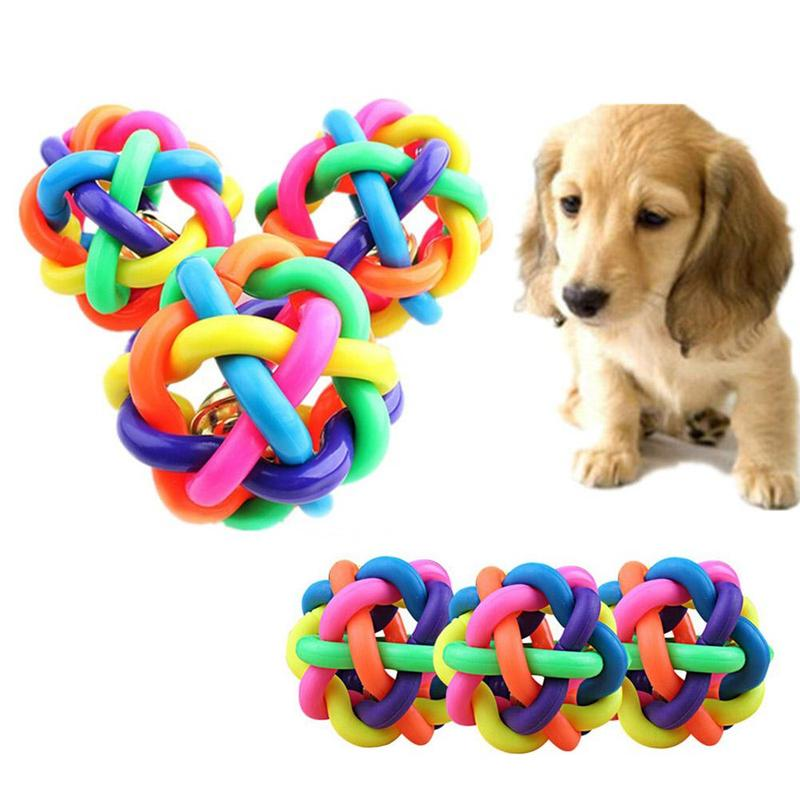 2019 Nieuwste Ontwerp Duurzaam Hond Speelgoed Rubber Regenboog Bal Interactieve Rubberen Ballen Voor Kat Puppy Dog Chew Speelgoed Bal Dierbenodigdheden Pay6607 Pay8148 Waterdicht, Schokbestendig En Antimagnetisch