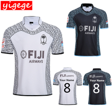 79d4c57e015 Custom names and numbers Best Quality 2019 FIJI Home away rugby Jerseys  Rugby League shirt fiji