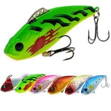 19g 72mm Peche Jig Head Japan Hard Body Lure Vibe Vibrating Bass Fishing Lures Pesca