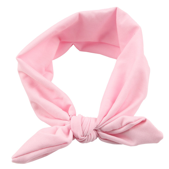 aa10c4c83a1 Online Shop 2018 Hot Sale Baby Girl Solid Knot Headband Kids Turban ...