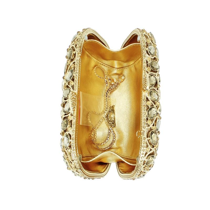 D'embrayage À Femme Luxe Main Mode 88192a Soirée Nouvelle Sacs Or Arrivée gy Diamant Délicat De qwqpWvIXP