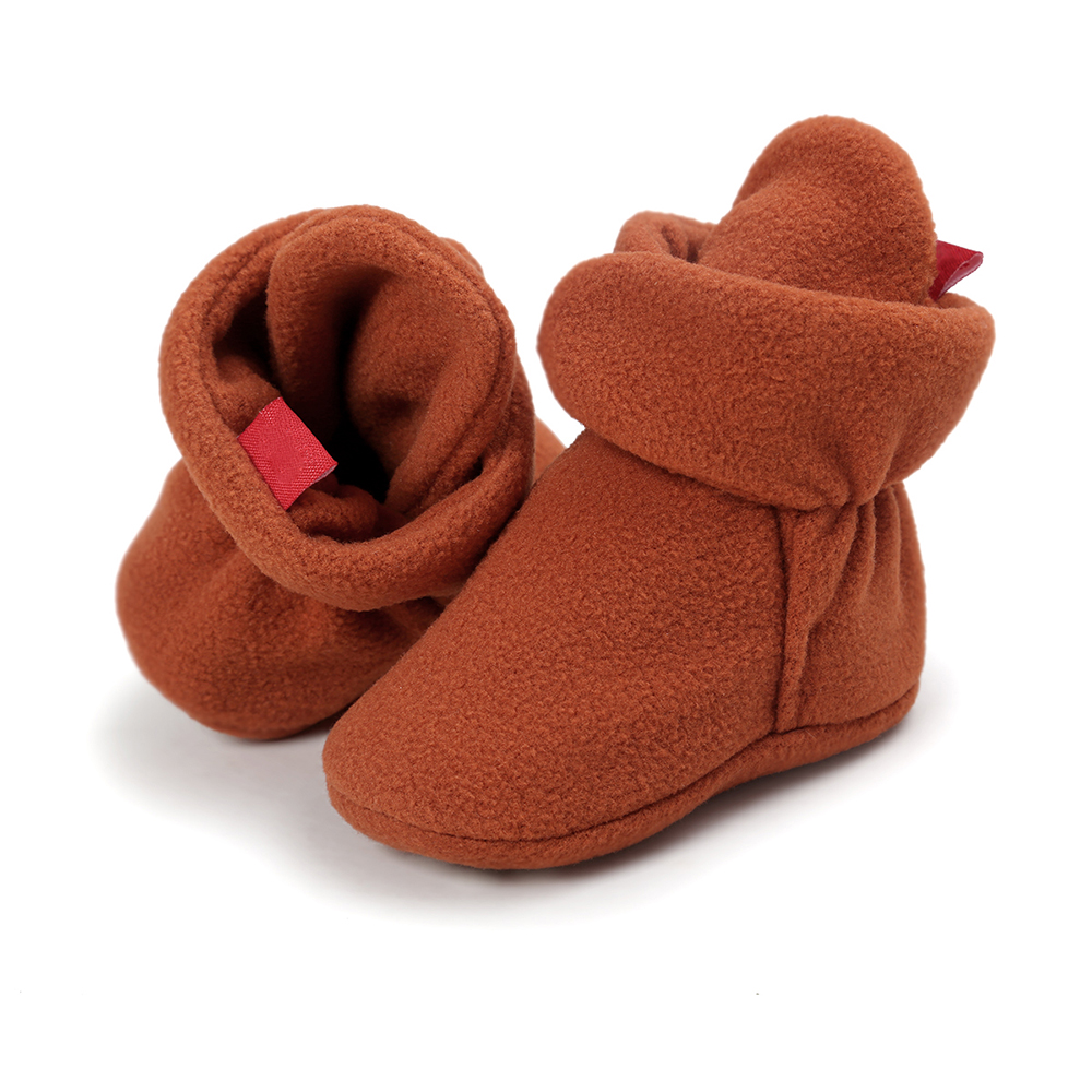 65363cbe999c Keep Warm Soft Sole Baby Shoes Newborn Shoes Winter Infant Booties ...