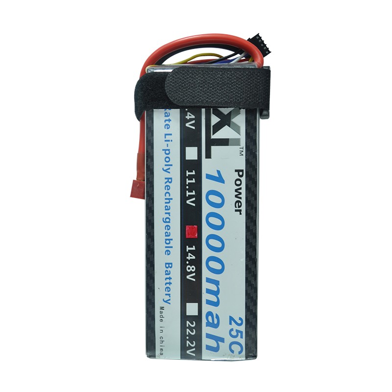 XXL New High Power Lipo Battery 14.8V 10000mah 25C MAX 50C for DJI S800 RC Car Boat Airplane Multirotor Part
