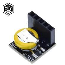 Módulo de relógio de precisão ds3231, rtc ds3231 3.3v/5v com bateria para raspberry pi