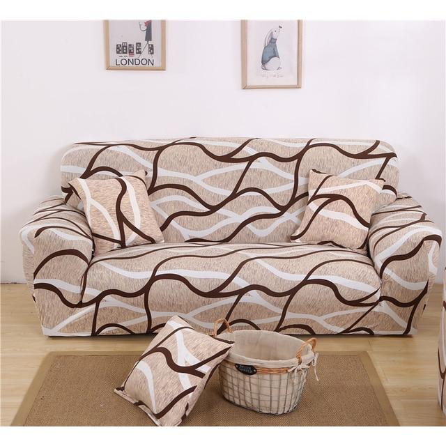 Homing Simple Style Furniture Protector Sofa Wrap Tight Slipcovers  Inclusive Sofa Cover Elastic Anti-Slip 2567dcd73086