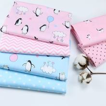 Printed Penguin Cotton fabric children s Blanket Quilt Fabric DIY Sewing  Bed Sheet Dress making cotton fabric f936a45d4