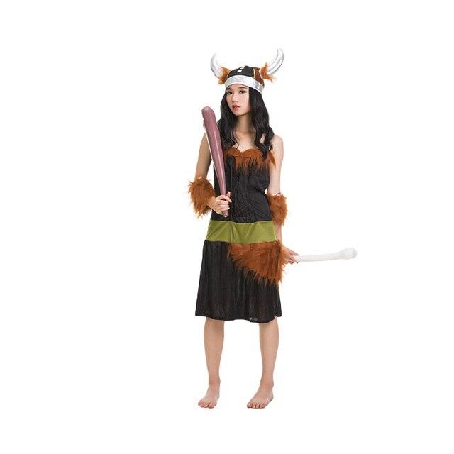 Erwachsene Paare Halloween Festival Indischen Kostüm Ox Horn ...