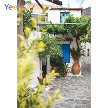 Yeele Landscape Photocall Stone Street Courtyard Lvy Photography Backdrop Personalized Photographic Backgrounds For Photo Studio