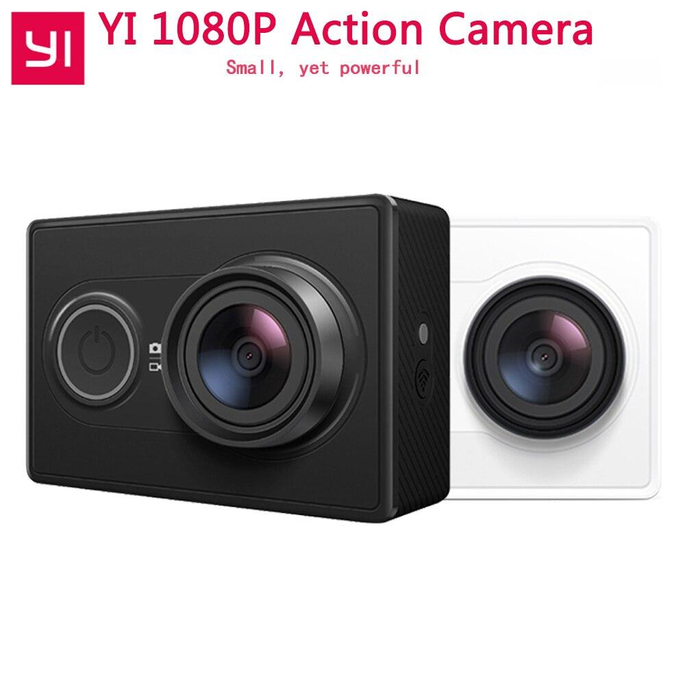 [Edición Internacional] Xiaomi YI acción Cámara WiFi BT4.0 16MP 3D reducción de ruido 60FPS Ambarella A7LS deportes Mini cámara